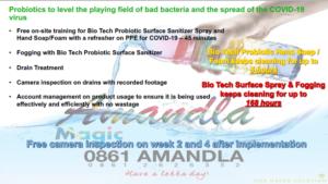Probiotic Sanitising for Coronavirus!
